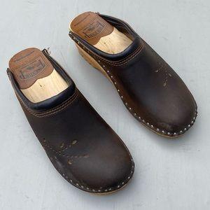 Troentorp Brown Heels Clogs